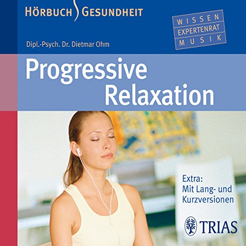 Progressive Relaxation audiobook cover art