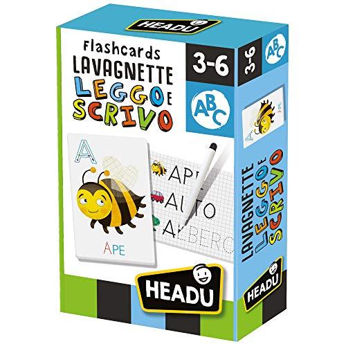 Headu- Flashcards Lavagnette leggo e Scrivo, IT23769