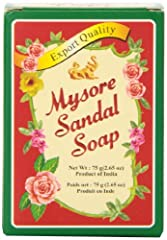 Mysore Sandal soap is one of the most popular soaps in India The only soap made with pure sandalwood oil Free from harsh chemicals Sandalwood is recommended in ancient Ayurvedic texts for natural skin care Suitable for everyday use