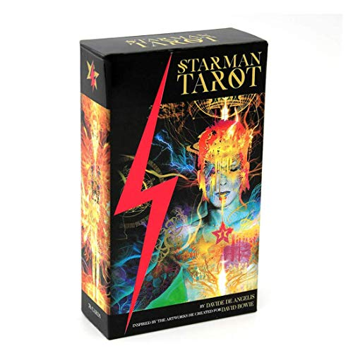 NXL 78 Cards Deck Starman Tarot Mysterious Divination Full English Oracle Deck Fun Family Party Board Game