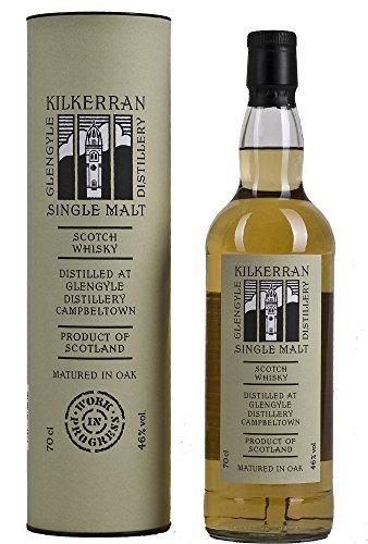 Kilkerran Single Malt Work in Progress No. 3 Release 7 Years Old mit Geschenkverpackung Whisky (1 x 0.7 l)