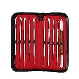 10Pcs Wax Carving Strumento Set Strumento Dentale Kit Versatile Attrezzature Di Laboratorio