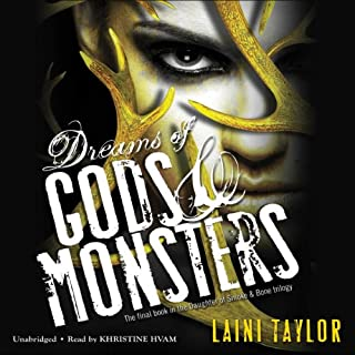 Dreams of Gods & Monsters audiobook cover art