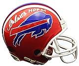 Andre Reed Signed Buffalo Bills Throwback Riddell Mini Helmet w/HOF'14