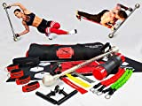 EdgeCross-X Elite Total Home Gym Set | Complete Body Weight Training Equipment | Portable Compact Personal Strength & Core Exercise Machine | Work Out Resistance Bands | Fitness Accessories For Gyms