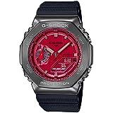 ジーショック [カシオ] 腕時計 メタルカバード GM-2100B-4AJF メンズ レッド ブラック