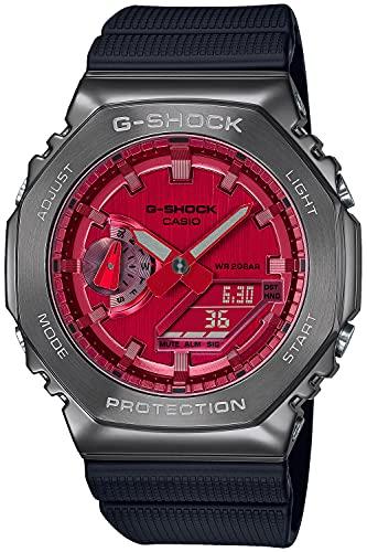 [カシオ] 腕時計 ジーショック メタルカバード GM-2100B-4AJF メンズ ブラック