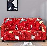 WXQY Funda de sofá elástica Flexible para Sala de Estar, Funda de sofá Universal, Funda Protectora para sillón de Muebles en Forma de L A12 4 plazas