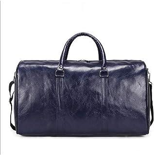 Large capacity Outdoor Short distance Travel Bag Women Soft Pu Leather Duffel Bag Fashion Casual Men Sports Fitness Handbag|Travel Bags|