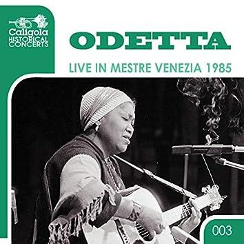 Live in Mestre Venezia 1985