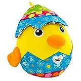 Lamaze Hatching Henry - Peluche de peluche para bebés y bebés para jugar sensorial, regalo ideal para recién nacidos, adecuado para bebés niños y niñas a partir de 6 meses