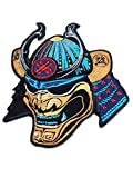 Ronin BJJ Emperor Samurai Patch – Premium Quality Jiu Jitsu Gi Kimono Patch – Intense Beautiful Coloring – 6 x 5 Inches Embroidered Patch – Ideal for Jackets and T-Shirts