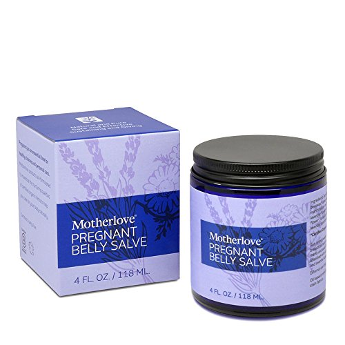 Motherlove Pregnant Belly Salve 4 oz Helps Prevent Stretch Marks Soothes the Itch of Growing Skin  Moisturizing Balm with Organic Herbs for Your Tummy CrueltyFree Natural Cream for Pregnancy
