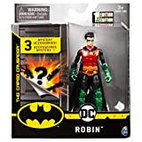 4-INCH GUARDIAN ROBIN ACTION FIGURE: With 11 points of articulation, pose your highly detailed figure into any action pose! Collect Tactical BATMAN, THE JOKER, ROBIN, MAN-BAT and more (each sold separately). 3 MYSTERY ACCESSORIES: Find 3 accessories ...