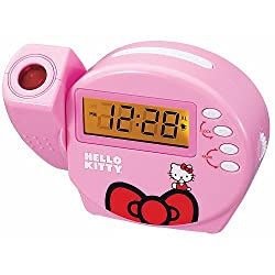 HELLO KITTY Clock (New Compact Size)