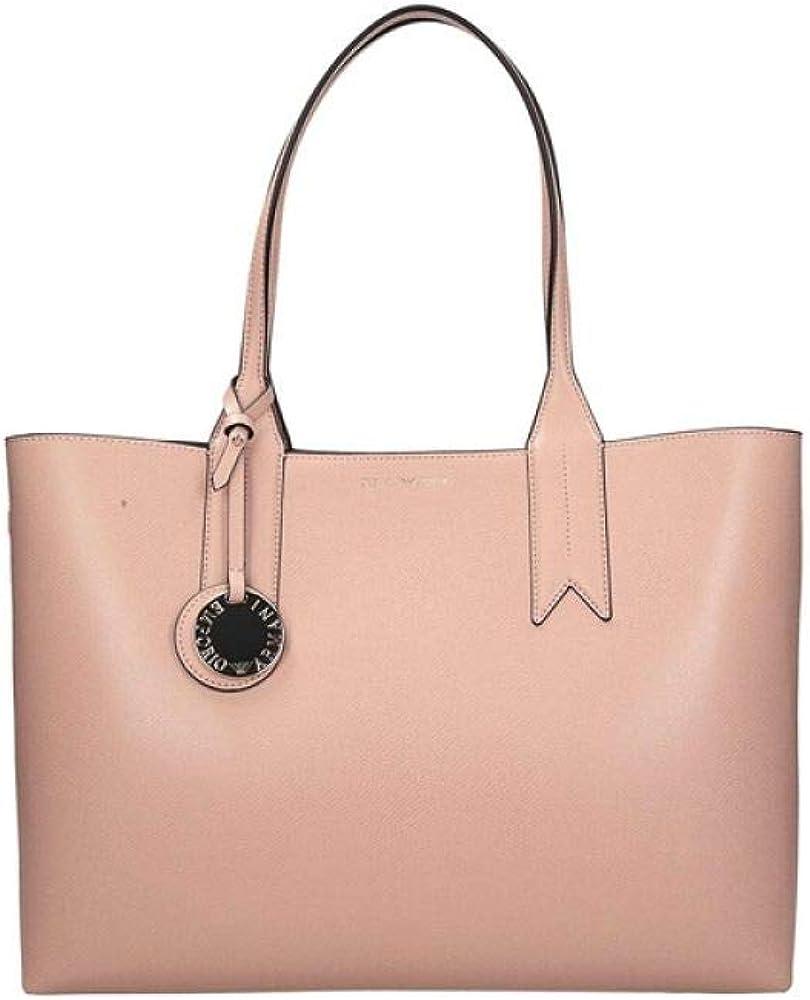 Emporio armani, borsa shopper per donna, in pelle sintetica Y3D081-YH15A-85185