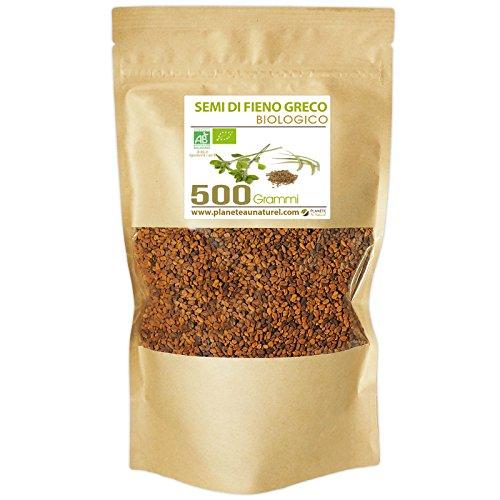 Semi di Fieno Greco Bio - Trigonella foenum-graecum - 500g