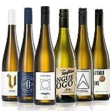 GEILE WEINE Weinpaket Weißwein (6 x 0,75) Probierpaket mit Weisswein von Winzern aus Deutschland und Italien