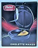 Parini Appliances Non-Stick Omelette Maker-Black