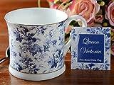 CREATIVE TOPS Rose Queen Becher aus feinem Knochenporzellan, 300 ml (10 Flüssigunzen), One Size