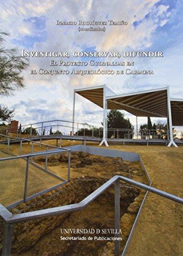 Investigar, conservar, difundir: El Proyecto Guirnaldas en el Conjunto Arqueológico de Carmona: 273 (Serie Historia y Geografía)