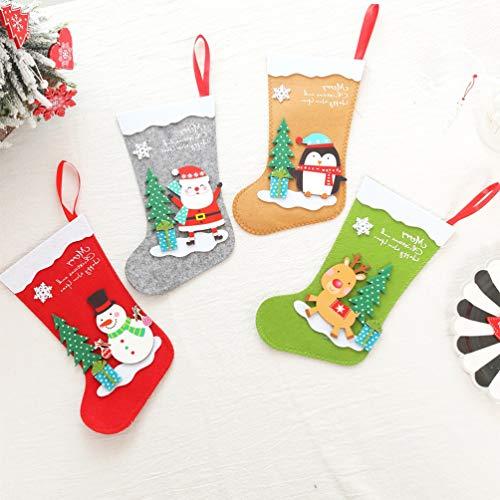 LEDMOMO『クリスマス靴下袋』