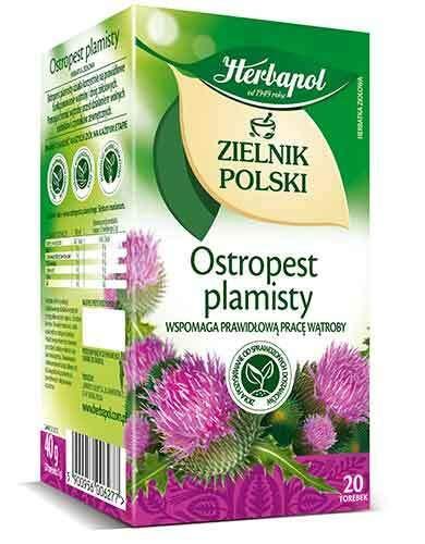 Herbapol Mariendistel-Tee ''Ostropest'' 20x2g