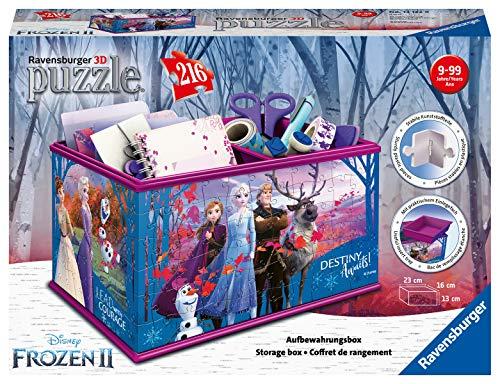 Disney Frozen 2 Aufbewahrungsbox. 3D Puzzle 216 Teile: Erlebe Puzzeln in der 3. Dimension