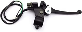 Bike Double Brake Lever,Brake Lever Dual Double Cable Wire For Moped Scooter Motorcycle Motocross Pit Dirt Pocket Bike