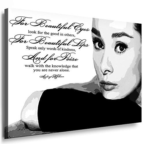 Bilder Audrey Hepburn Filmszene Leinwand Bild L Format 50 x 70 cm ! Wandbilder 10 Motive Wählbar ! KEILRAHMENBILD! Kein Poster, FOTOGRAFIEN ODER Plakat! Grosse LEINWANDBILDER! AH-01-3