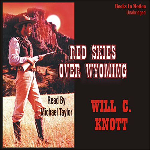 Red Skies Over Wyoming audiobook cover art