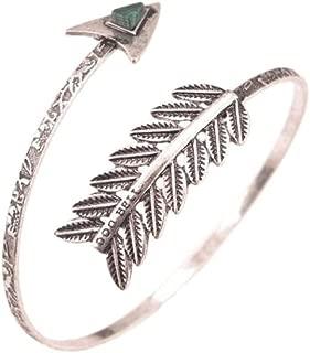 Women Simple Bracelet Swirl Spiral Armband Arm Cuff Armlet Upper Stone Bangle Bracelet Armband