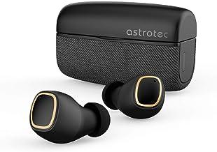 Astrotec フルワイヤレスイヤホン ブラック S80PLUS BLACK [リモコン・マイク対応 /ワイヤレス(左右分離) /Bluetooth]