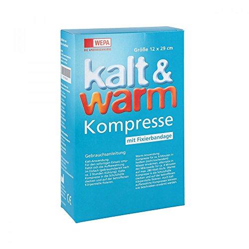 KALT-WARM Kompresse 12x29cm mit Fixierband, 1 St