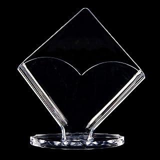 Rongzou Boîte de Rangement en Acrylique Transparent pour Serviettes de Table