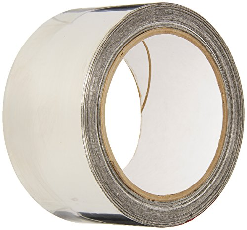 3M 3361 Silver High-Temperature Stainless Steel Tape - 1 in. x 9 ft. Non-Magnetic Acrylic Adhesive Foil Tape. Safety Tapes
