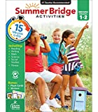 Summer Bridge Activities Workbook―Grades 1-2 Reading, Writing, Math, Science, Social Studies, Fitness Summer Learning Activity Book With Flash Cards (160 pgs)