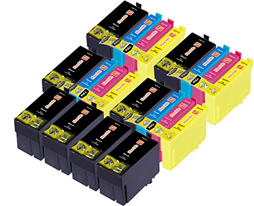 Pisco Inks - Cartucho de Tinta refabricado para Usar en Lugar de Epson 27XXL 27XL XL, Workforce WF-3620DWF WF-3640DTWF WF-7110DTW WF-7210DTW WF-7610DWF WF-7620DTWF WF-7620TWF WF-7710DWF, Pack de 20