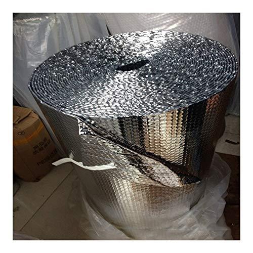 YING-pinghu Сar Aislamiento de Sonido 6 mm 100 cm x 300 cm de Sonido Deadener Aislamiento de Calor de Material de Estera Bloqueador Reflectante (Color Name : Silver)