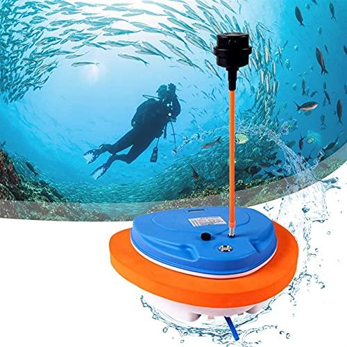 WanLCC Dispositivos De Respiración De Aire Subacuático, Mini Compresor De Buceo Hookah, con Profundidad De Buceo De...