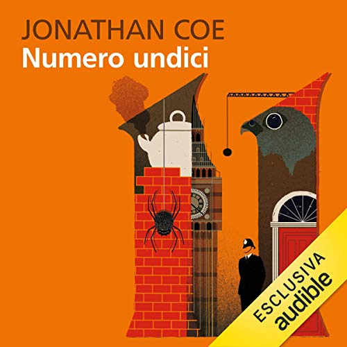 Numero undici audiobook cover art