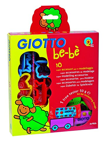 GIOTTO be-bè 4642 00 AusstechformenKnetspielzeug, farbig Sortiert