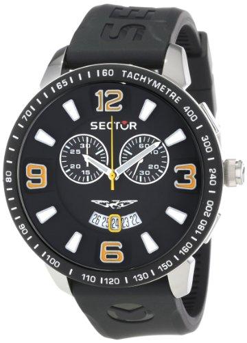 Sector Herren-Armbanduhr XL 400 Chronograph Plastik R3271619002