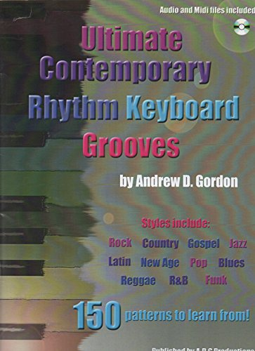 Ultimate Contemporary Rhythm Keyboard Grooves  (English Edition)
