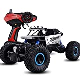 Coches de control remoto El más nuevo 4x4 Vehículo sobre orugas de escalada en roca Juguetes eléctricos recargables RTR Off Road Monster Truck s Hobbyist Grade Race Buggy 2.4GHz 1:12 All-Terrain Big