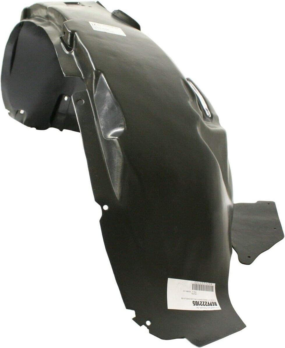 JENCH Jacksonville Mall shopping Fender Liner Front Right Hand RH Side Compatible Passenger