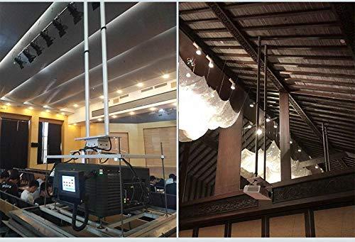 CGOLDENWALL 100-300cm Elevador de Proyector Inteligente Soporte ...