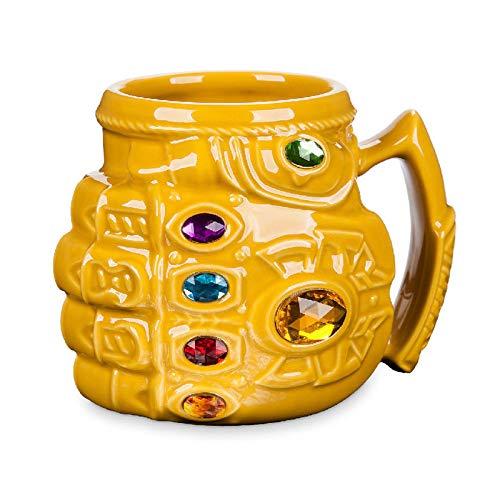 Taza Desayuno Originales Nuevo Marvel Thanos Guantes...