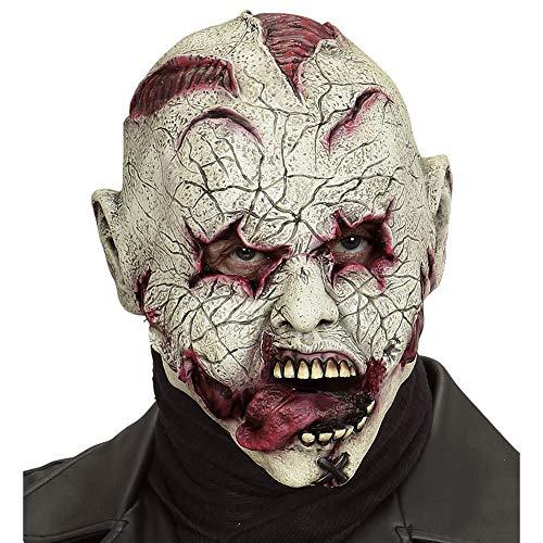 WIDMANN Horror Payaso Látex Máscara de Halloween Carnaval Fiestas Trajes