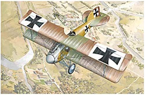 ローデン 1/72 独 アルバトロス D.II 戦闘機 WW-1 072T006 プラモデル